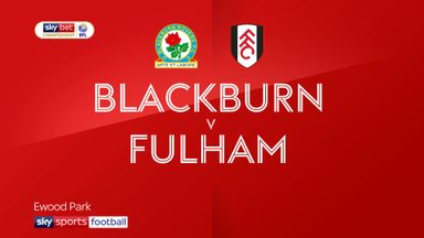 Blackburn 0-1 Fulham