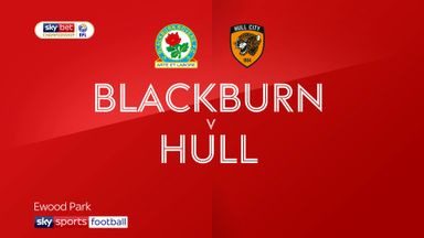 Blackburn 3-0 Hull