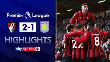 Bournemouth move above Villa after win