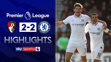 Alonso earns Chelsea draw at Bournemouth
