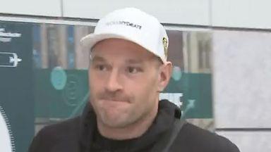 Fury returns to UK after Wilder triumph