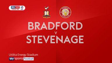 Bradford 3-1 Stevenage