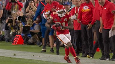 Breeland intercepts for the Chiefs