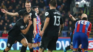 'No surprise over Brighton-Palace derby'