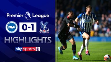 Ayew winner stuns Brighton