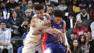 NBA Wk18: Bucks 126-106 Pistons