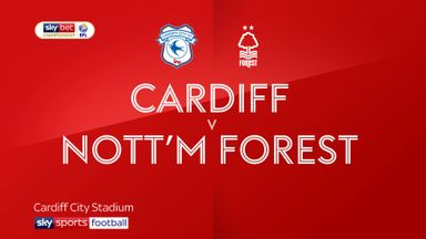 Cardiff 0-1 Nottingham Forest