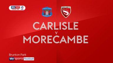 Carlisle 2-2 Morecambe