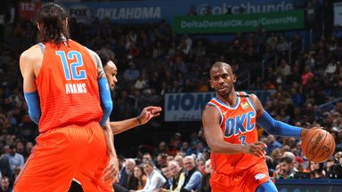 NBA Wk18: Spurs 103-131 Thunder