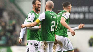 Ross: Hibs players deserve credit