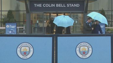 Stormy at the Etihad