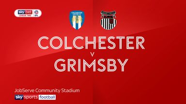 Colchester 2-3 Grimsby