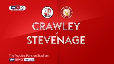 Crawley 2-0 Stevenage
