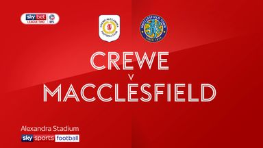 Crewe 2-0 Macclesfield
