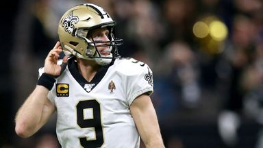Brees criticised for flag comments