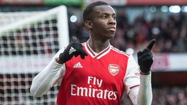 Nketiah: PL return will delight fans