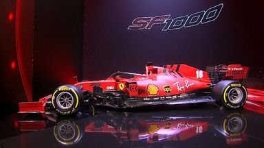 Ferrari's SF1000 unveiled