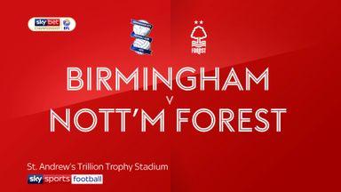 Birmingham 2-1 Nottingham Forest
