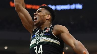 Giannis' stellar season in numbers