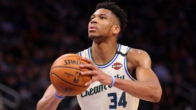 Giannis fires for 33 as Bucks dismiss Pistons