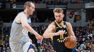 NBA Wk19: Hornets 80-119 Pacers