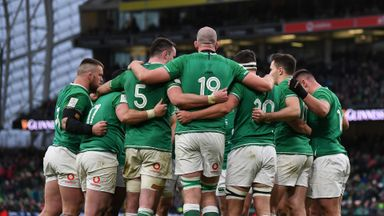 Ireland vs Italy games postponed