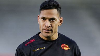 Dragons don't expect Folau protests