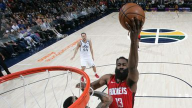 NBA Wk18: Rockets 120-110 Jazz