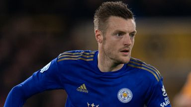 'Vardy on track to return against Villa'