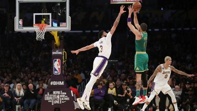 NBA Wk18: Celtics 112-114 Lakers