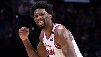 Embiid erupts for season-high 39 points