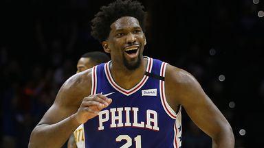 Embiid drops career-best 49 on Hawks