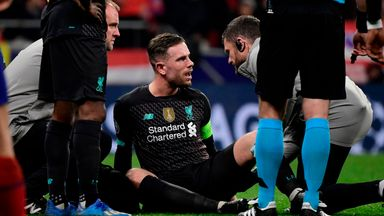 Klopp: Henderson injury could be worse