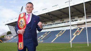 Warrington: Unification fight on hold