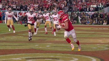 Kelce keeps Chiefs in touch