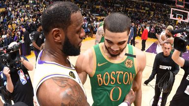 LeBron: Special to be part of storied rivalry