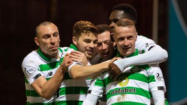 Celtic playing 'sparkling football'