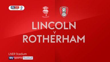 Lincoln 0-1 Rotherham