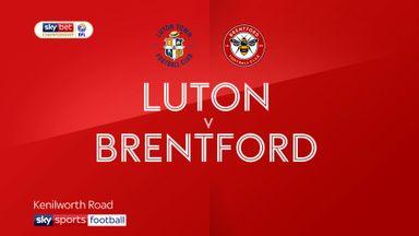 Luton 2-1 Brentford