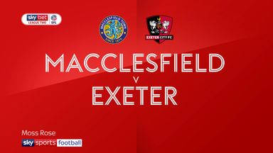 Macclesfield 2-3 Exeter