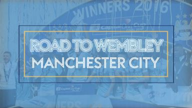 Man City's Road to Wembley