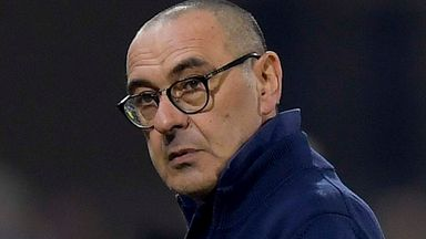 Sarri rejects virus fears over Juve away fans