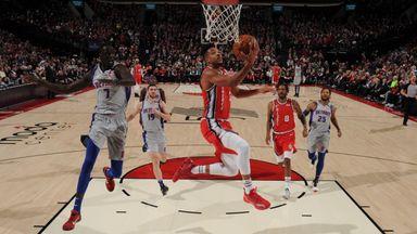 NBA Wk18: Pistons 104-107 Trail Blazers
