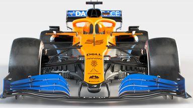 McLaren's MCL35 unveiled