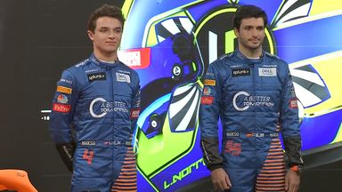 Sainz, Norris reflect on new MCL35