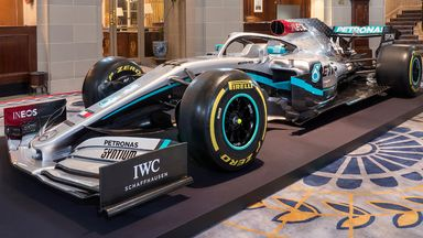 New Mercedes 2020 livery revealed