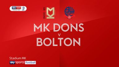 MK Dons 1-0 Bolton