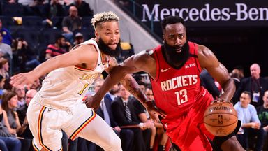 NBA Wk18: Rockets 135-105 Warriors