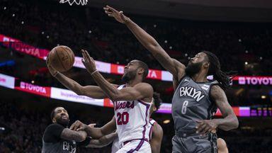 NBA Wk18: Nets 104-112 76ers (OT)
