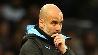 'Pep under pressure after CL ban'